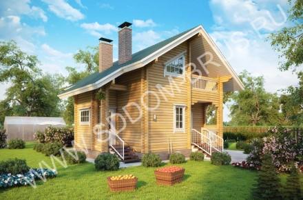 Дом из клееного бруса Лесная поляна